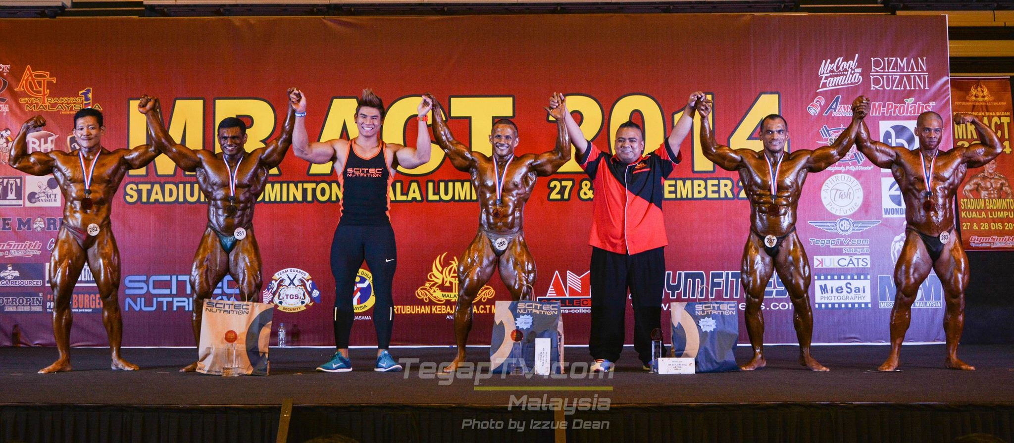 Winners Bodybuilding Over 80kg