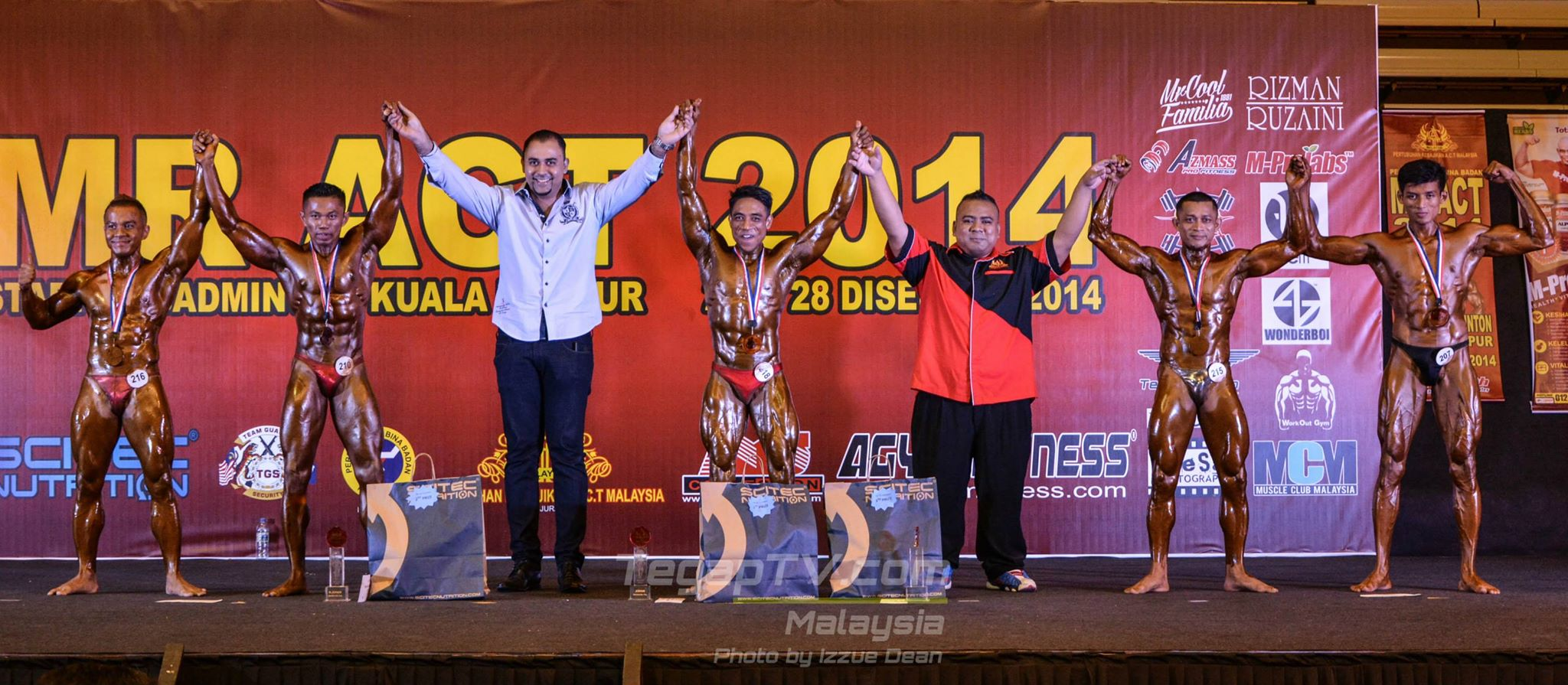 Winners Bodybuilding New Talent (Below 70kg)