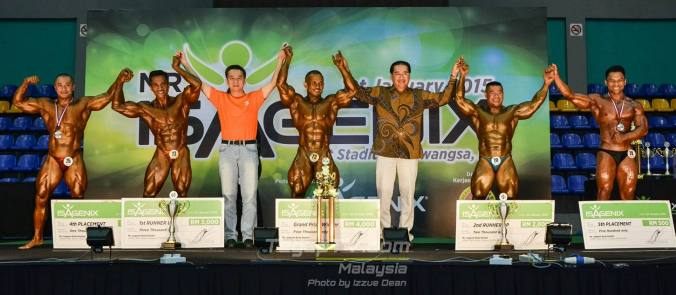 Winners Bodybuilding Above 70kg (Open)