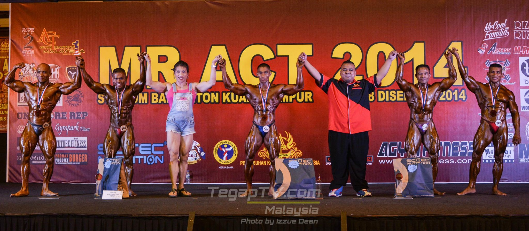 Winners Bodybuilding Below 70kg