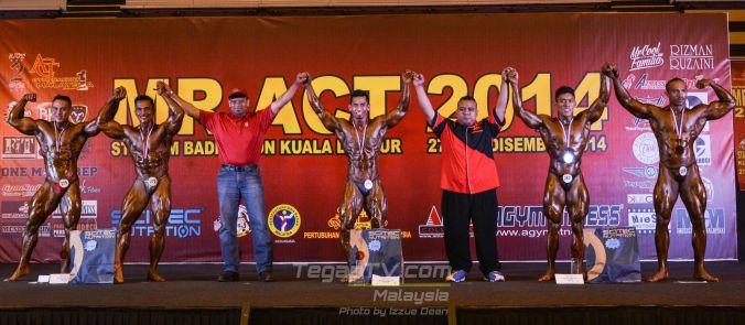 Winners Bodybuilding 70-80kg