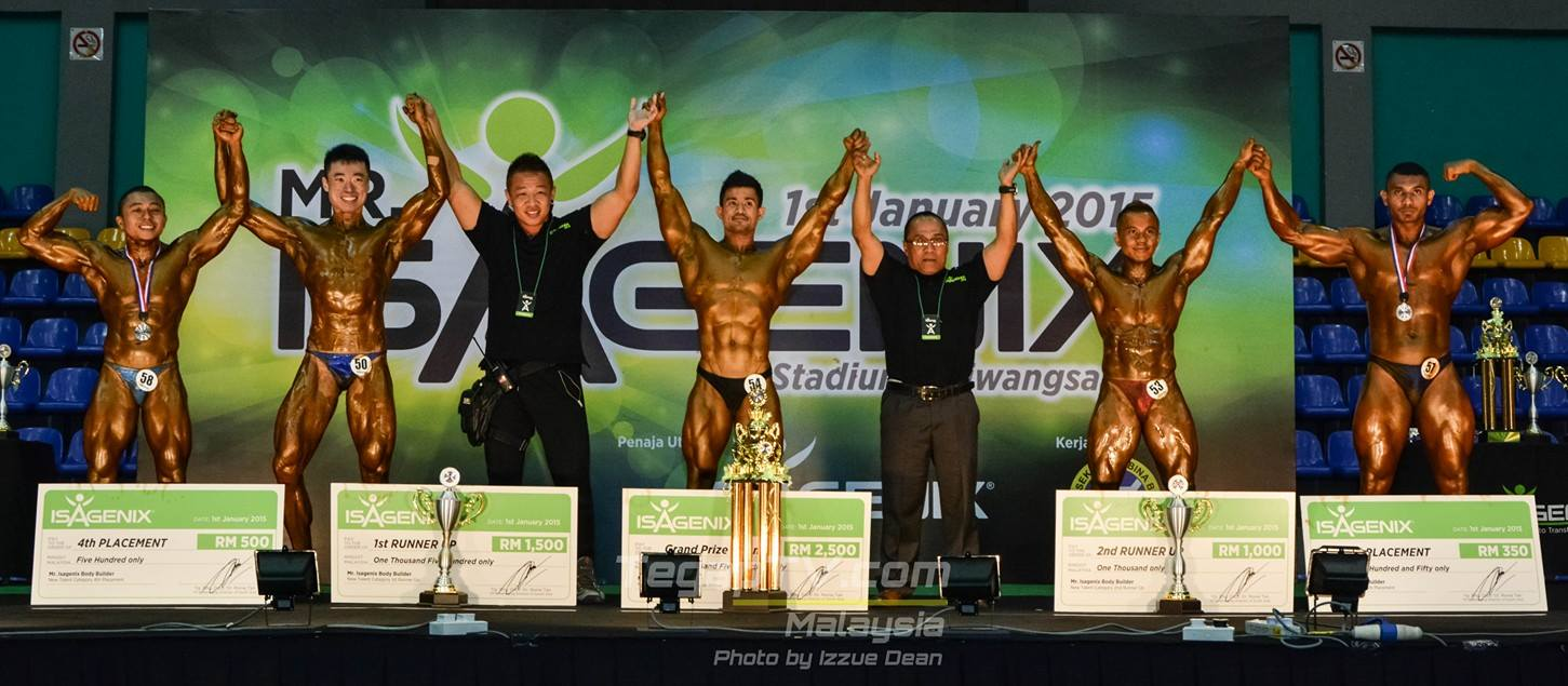 Winners Bodybuilding New Talent Category