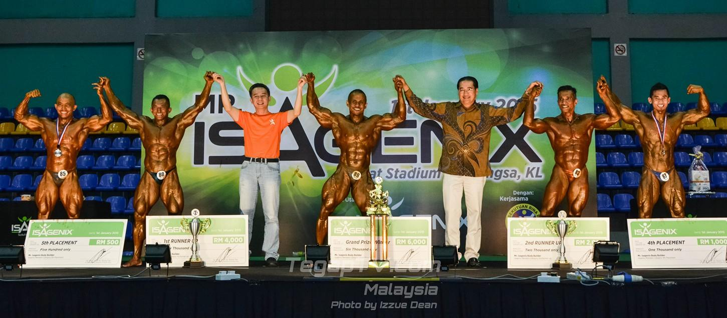 Winners Bodybuilding Isagenix Members